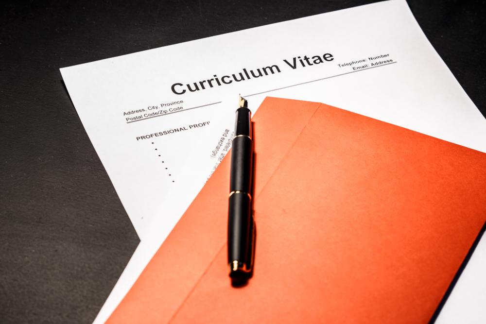 Mẫu CV tiếng Anh đơn giản