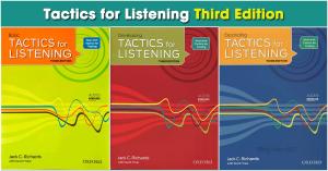 Tactics For Listening bộ sách chuyên về rèn luyện kỹ năng và phản xạ nghe
