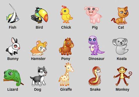 Từ vựng tiếng Anh theo chủ đề có phiên âm về động vật
