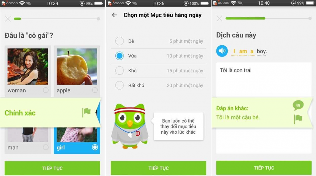 Duolingo - ứng dụng học tiếng Anh online miễn phí tốt nhất