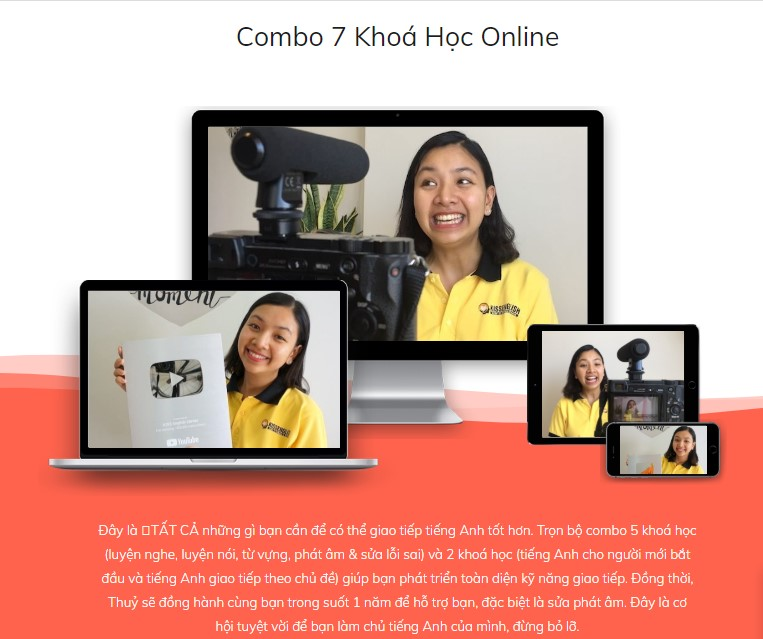 Vip Combo – Khóa Học Tiếng Anh Online Tốt Nhất
